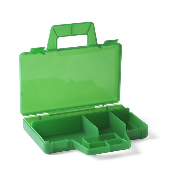 Cutie depozitare LEGO® To Go, verde