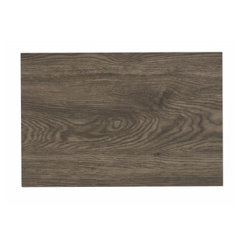 Suport din plastic pentru farfurie Tiseco Home Studio Grey Wood, 30x45cm de la Tiseco Home Studio