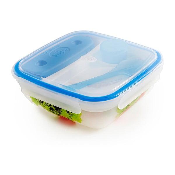 Fresh ételtároló doboz evőeszközzel és hűtőbetéttel, 1,5 l - Snips