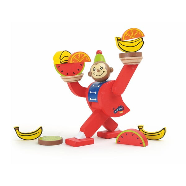 Dřevěná hračka Legler Circus Monkey