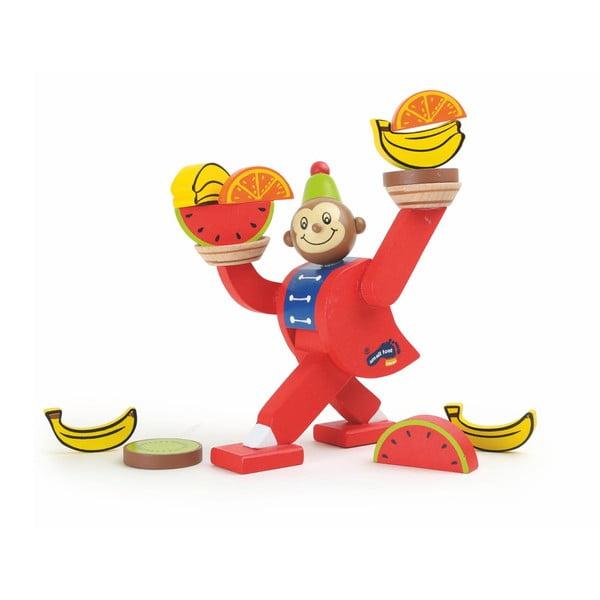 Jucărie din lemn Legler Circus Monkey