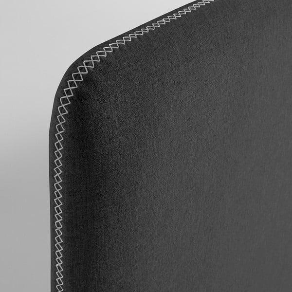 Tmavě šedá jednolůžková postel La Forma Lydia, 90 x 190 cm