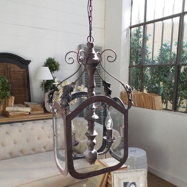 Stropní svítidlo se 2 světýlky Orchidea Milano Antique Rusty