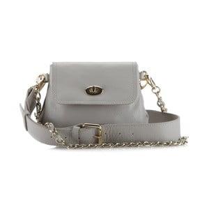 Kožená kabelka Elegance Night Grey