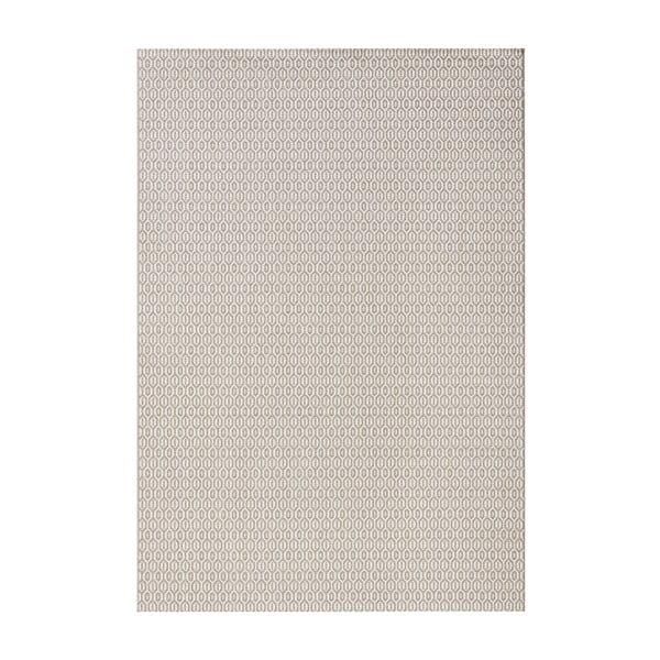 Sivý koberec vhodný aj do exteriéru Meadow, 140×200 cm,