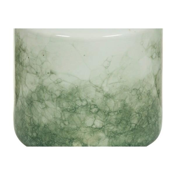 Recipient din ceramică Santiago Pons Havan, înălțime22cm, alb - verde