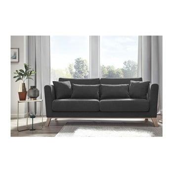 Canapea cu 3 locuri Bobochic Doblo gri închis