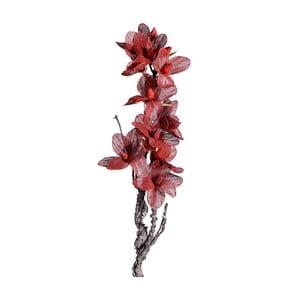 Umělá květina s červenými květy Ixia Folami, výška122cm