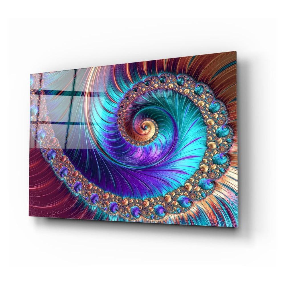 Skleněný obraz Insigne Peacock