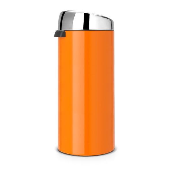 Dotykový odpadkový koš Touch Bin, 30 l, oranžový