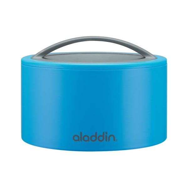 Svačinový termobox Bento 0.35 l, modrý