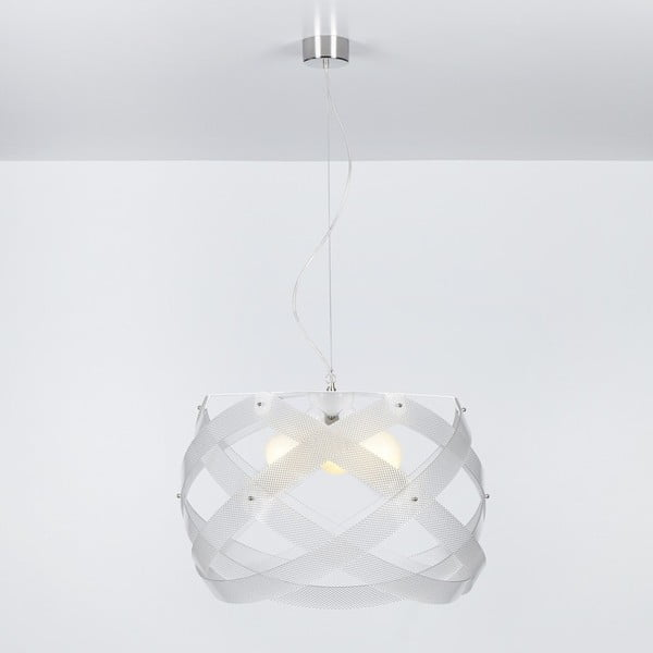Závěsné svítidlo Nuclea Emporium 53 cm, transparentní
