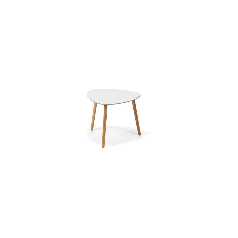 Bílý konferenční stolek loomi.design Viby