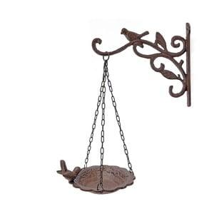 Nástěnný věšák se závěsným krmítkem Antic Line Bird