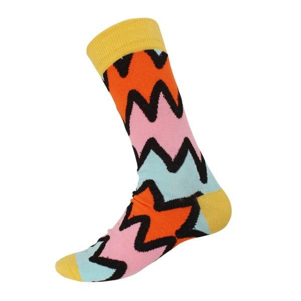 Ponožky Mix Yellow, velikost 40-44
