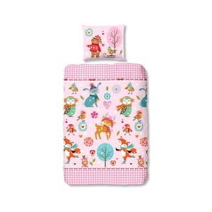 Lenjerie de pat pentru copii Muller Textiels Sweet, 140 x 200 cm, bumbac