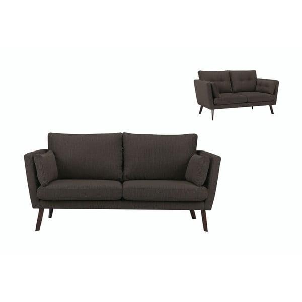 Canapea cu 3 locuri Mazzini Sofas Elena, maro