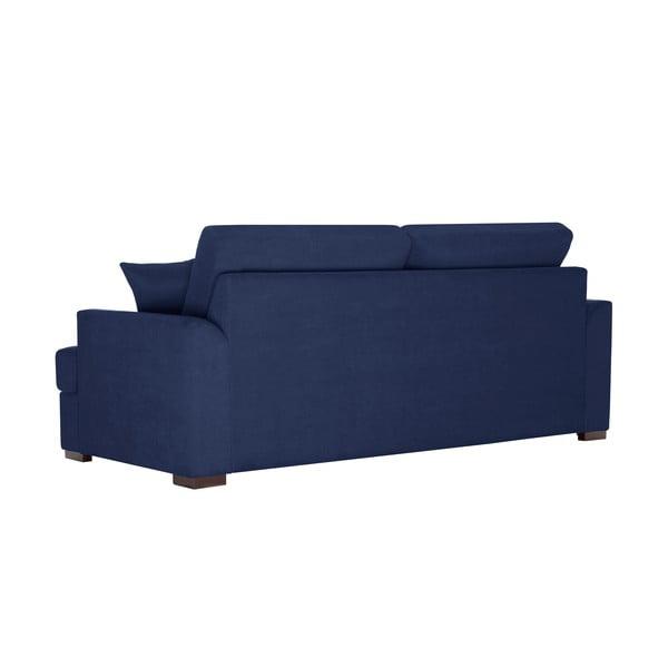 Třímístná pohovka Jalouse Maison Irina, tmavě modrá