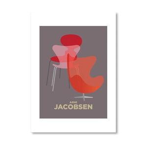 Autorský plakát Arne Jacobsen