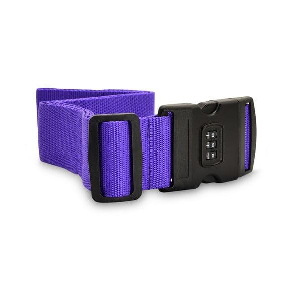 Fialový zámek na kufr BlueStarAccess