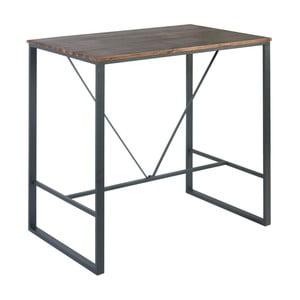 Barový stůl s deskou z bukového dřeva indhouse Cove