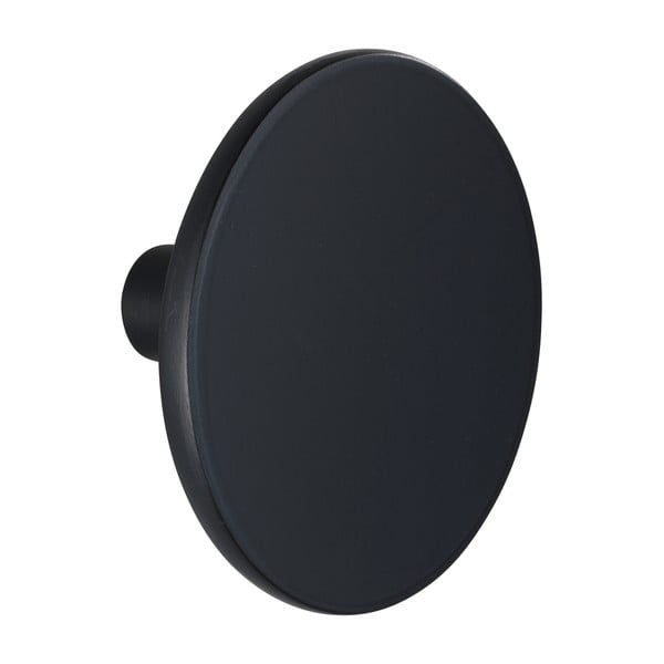 Cârlig de perete Wenko Melle, ⌀8cm, negru mat