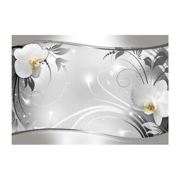 Velkoformátová tapeta Artgeist Silver Abstract, 400x280cm