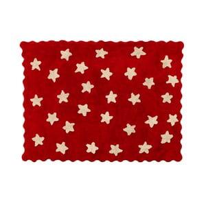 Koberec Eden 160x120 cm, červený
