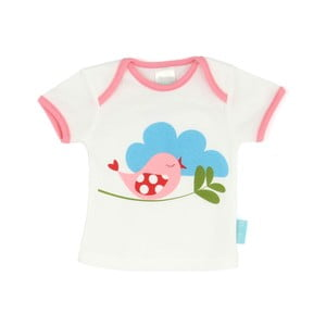 Dětské tričko Little Birds s krátkým rukávem, vel. 12 až 18 měsíců