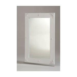Bílé nástěnné zrcadlo Castagnetti Nadine