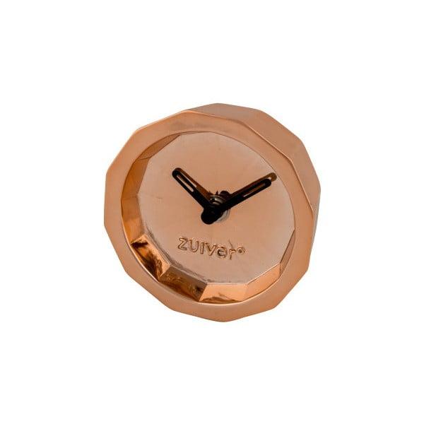 Stolní hodiny v měděné barvě Zuiver Bink