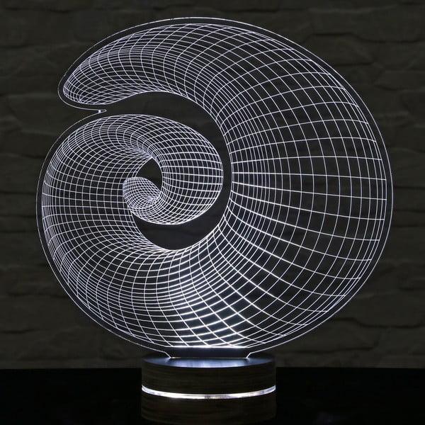 3D stolní lampa Shell