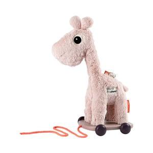 Růžová hračka na kolečkách Done by Deer Raffi