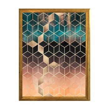 Poster cu ramă Piacenza Art Hexagon, 30 x 20 cm