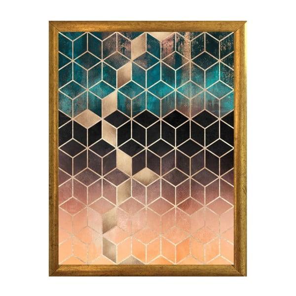 Plakát v rámu Piacenza Art Hexagon, 30x20cm