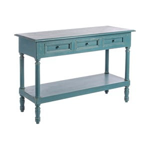 Modrý konzolový stolek Bizzotto Ania