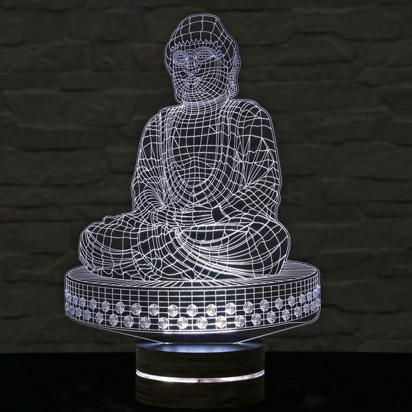 3D stolní lampa Budha