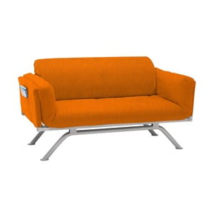 Canapea extensibilă cu 3 locuri 13Casa Kargo, portocaliu