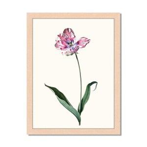Obraz v rámu Liv Corday Provence Red Floral, 30x40cm