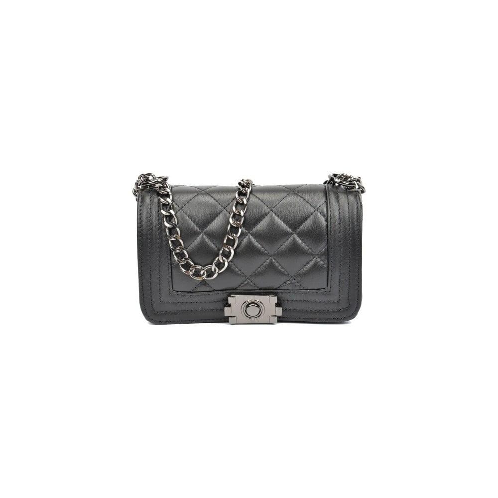 Černá kožená kabelka Isabella Rhea Nadiya