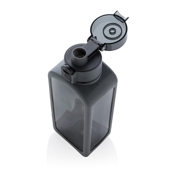 Černá uzamykatelná lahev s automatickým otvíráním XDDesign Collection,600ml