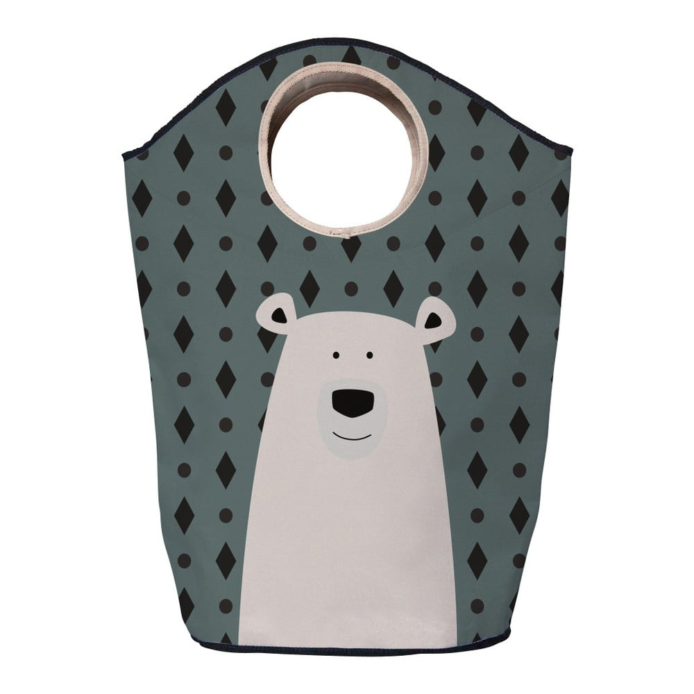 Úložný koš Mr. Little Fox Polar Bear, 60l
