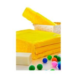 Sada osušek 50x100 a 150x80 cm, žlutá