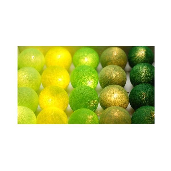 Greens, 35 ks světýlek