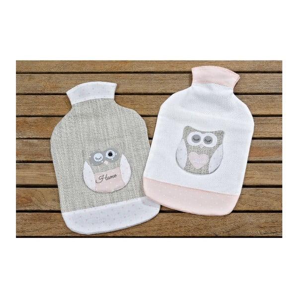 Sada 2 obalů na zahřívací lahve Owl