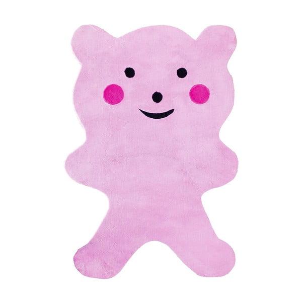 Dětský koberec Mavis Teddy Bear Pink, 120x180 cm