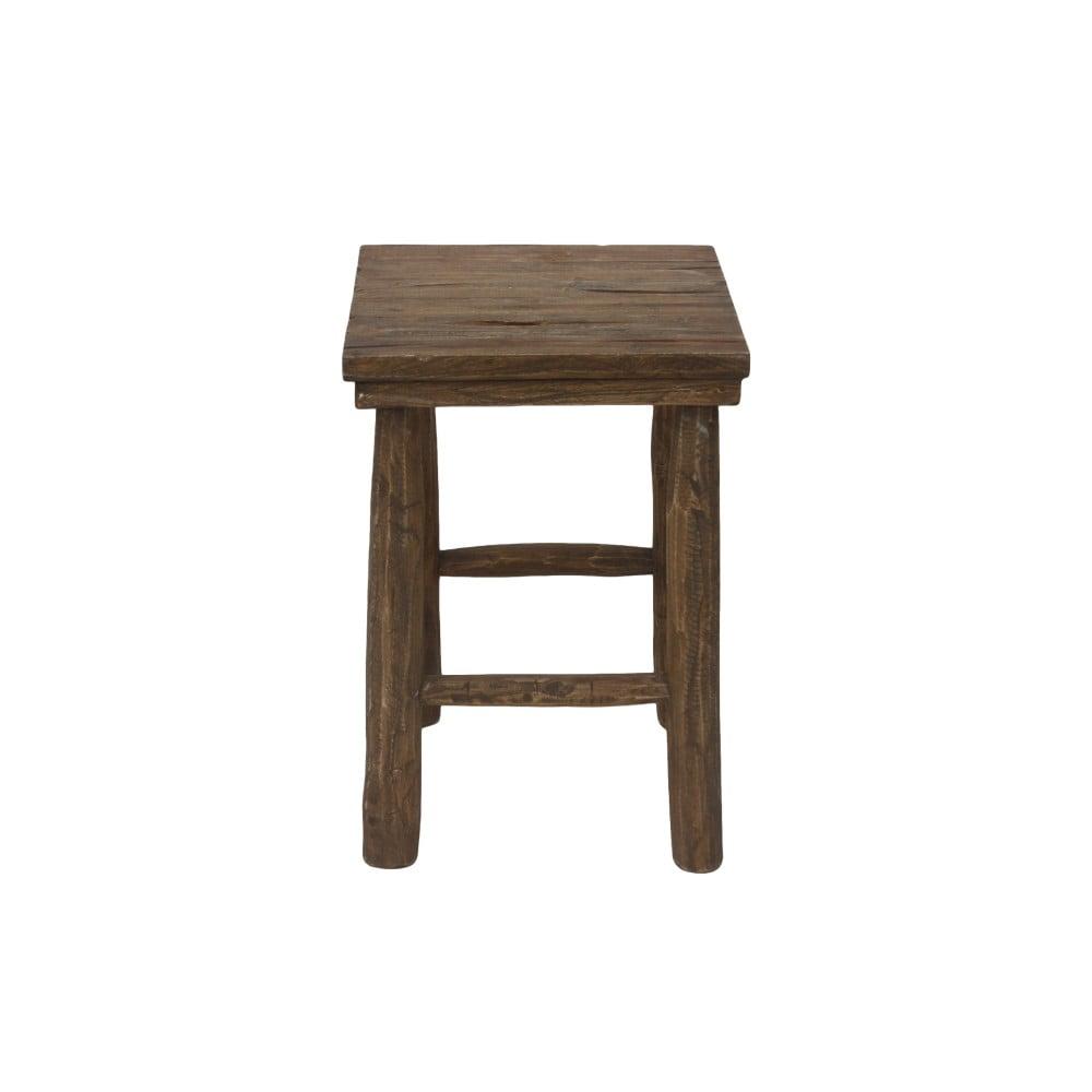 Stolička z teakového dřeva HSM collection Pank