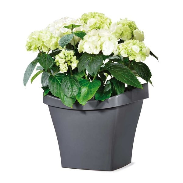 Venkovní květináč Living 50 cm, šedý