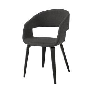 Tmavě šedá jídelní židle Interstil Nova Poplar Modena