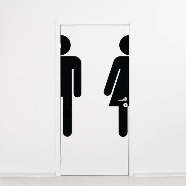 Samolepka Ambiance Bathroom Door